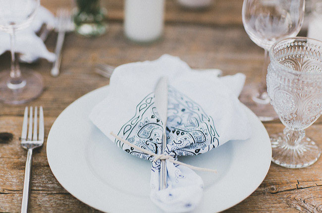 bandana napkin