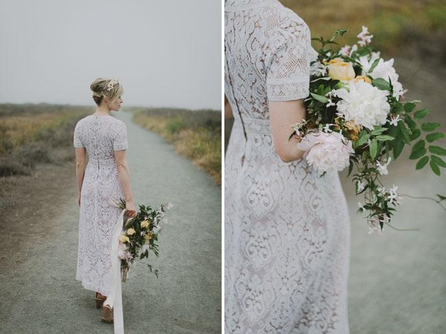 lace bridal dress