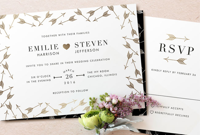 Wedding Invitations from Minted   a  3500 Giveaway     Green Wedding