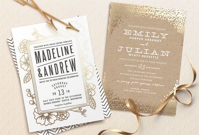 Our Favorite Wedding Invitations from Minted a 3500 Giveaway