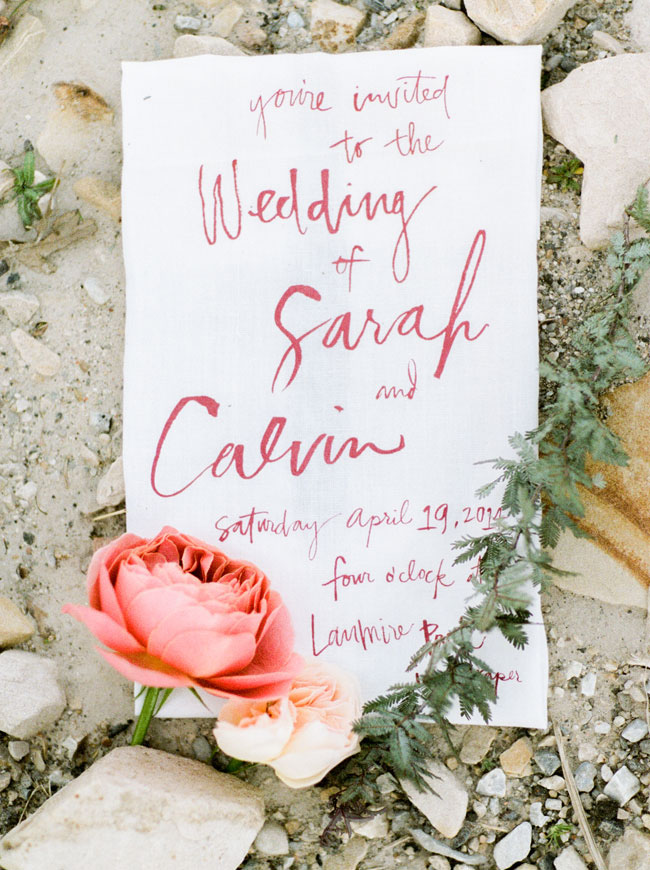watercolor invite