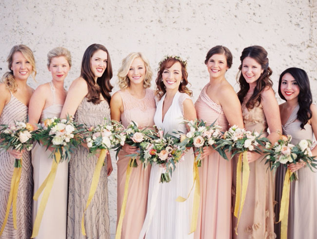 mixed bridesmaid dresses nashville