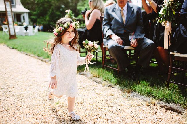 little flower crown flower girl