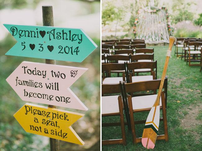 wedding oar