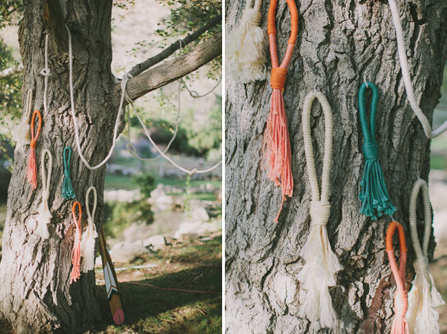 rope wedding decor