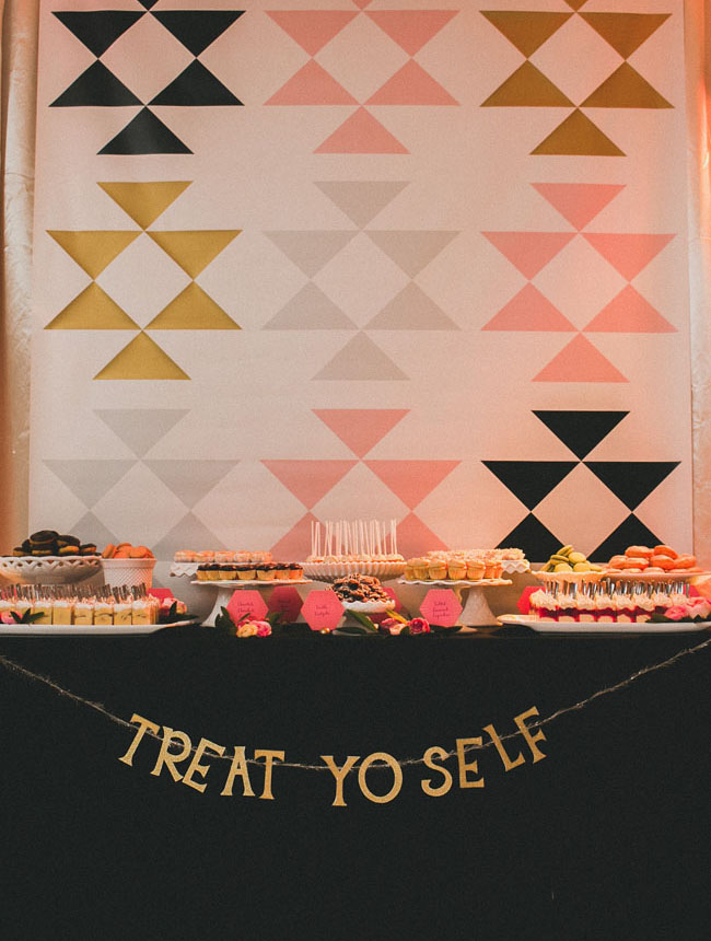 treat yo self dessert bar