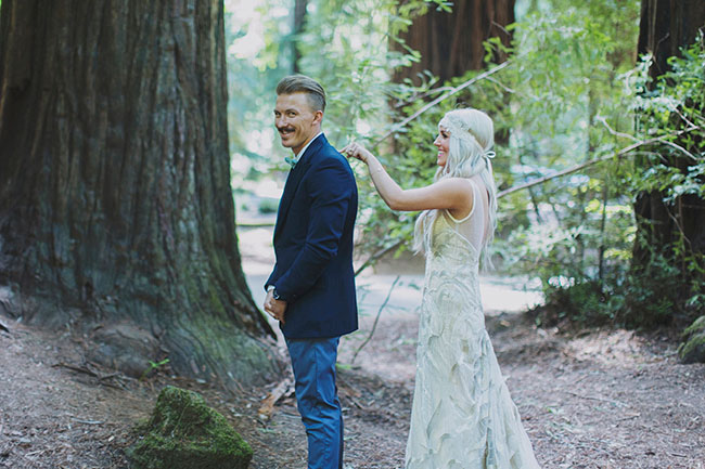 first look in the redwoods
