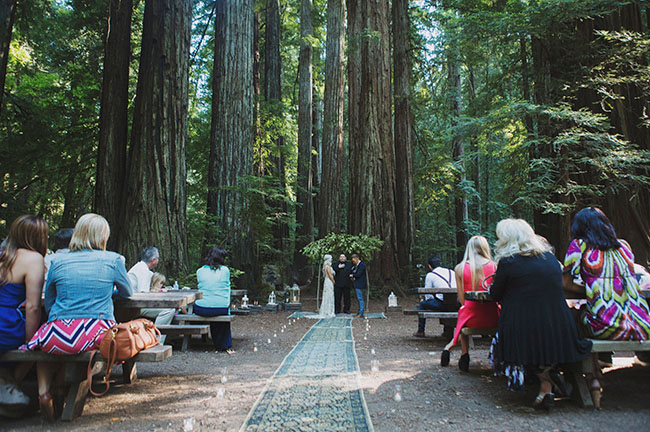 redwoods ceremony