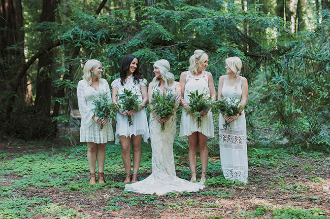 redwoods bridesmaids