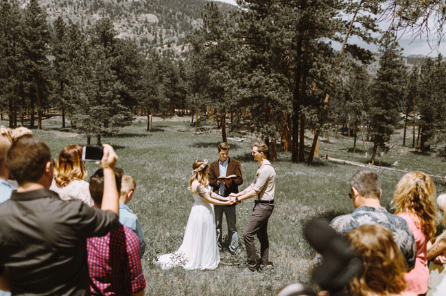 Rocky Mountain wedding