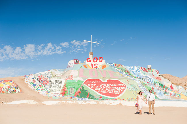 Salvation Mountain elopement