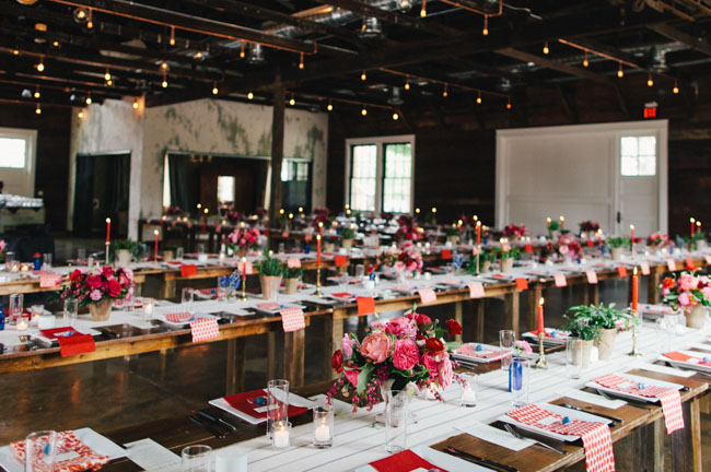 Texas warehouse reception