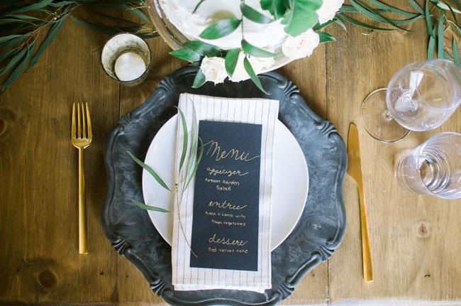 vintage dark blue plates