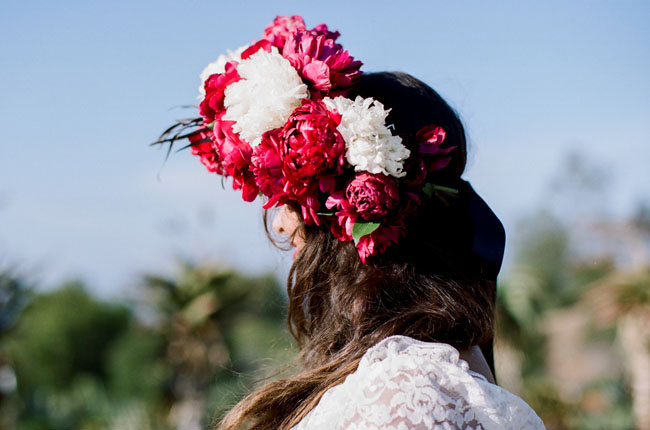 giant flower crown