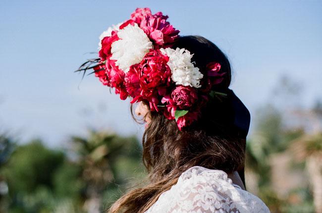 giant flower crown