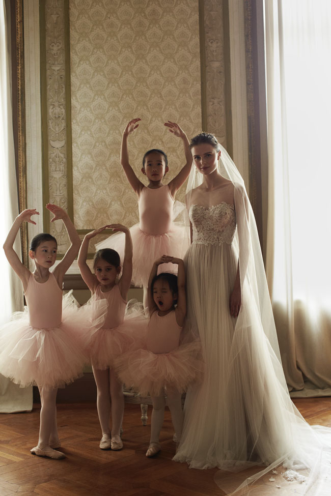 Wedding Dress and ballerinas