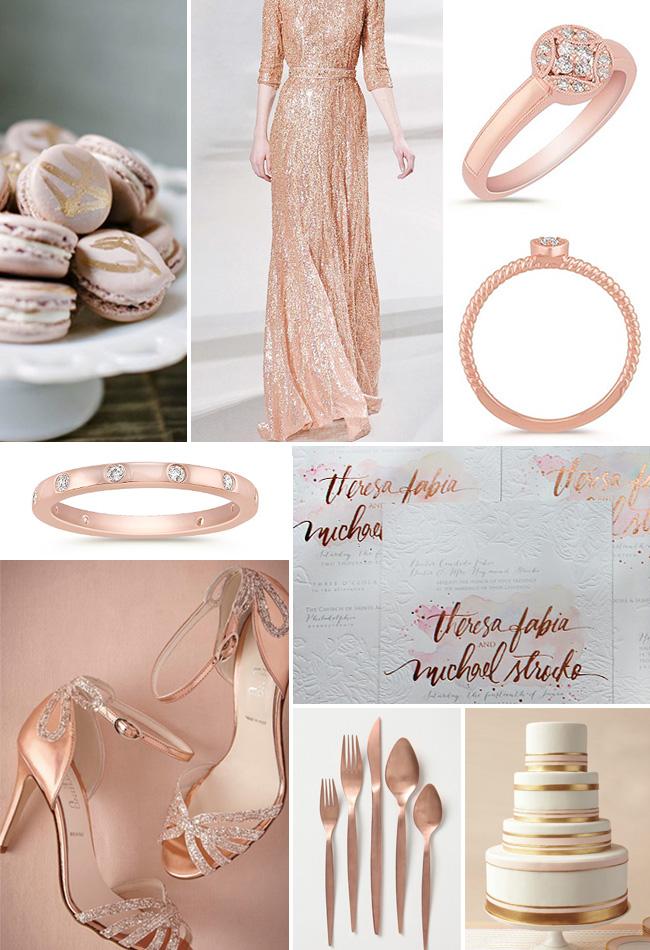 Gold Dress Shoes For Wedding 59 Fabulous rose gold fall wedding