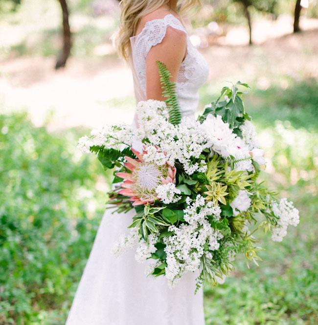 protea boho bouquet