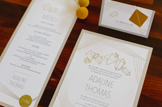 geometric invitation