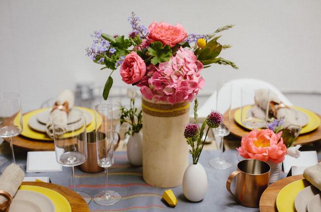 wooden vases
