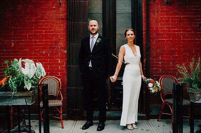 brooklyn waterfront wedding