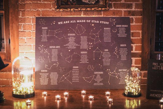 galaxy seating chart