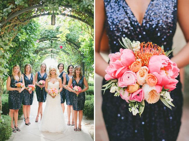 sequin dress bridesmaids 1