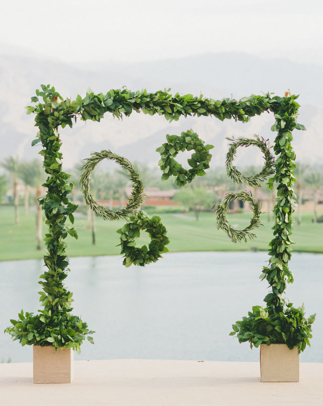 desert glam hanging wreaths