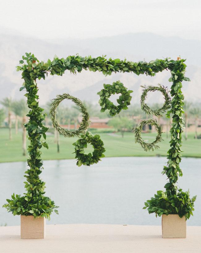 desert glam hanging wreaths