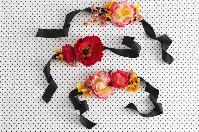 DIY Silk Flower Corsage