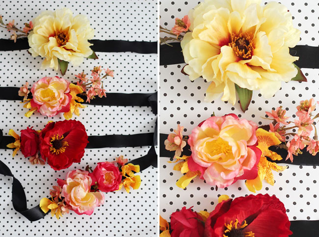 DIY Silk Flower Corsage