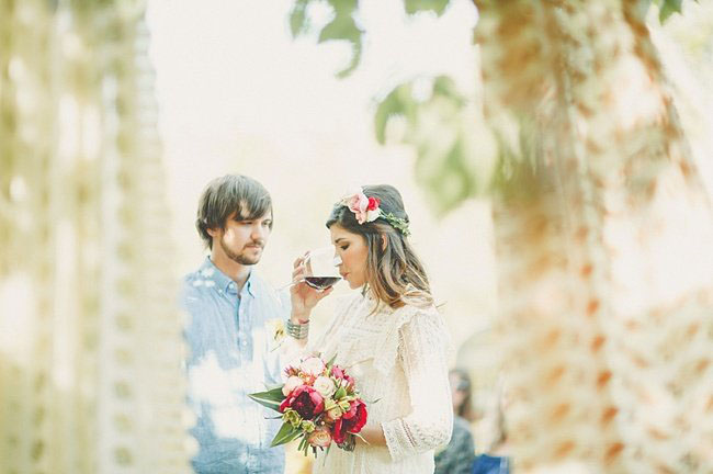 intimate Texas wedding