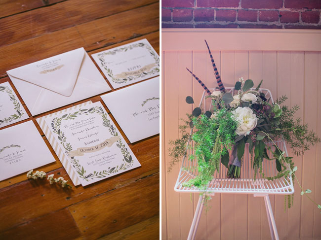 greenery paper suite