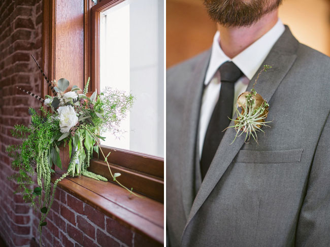 airplant boutonniere x