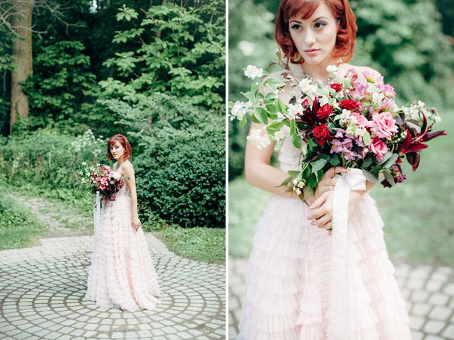 Pink And Green Wedding Dress 10 New pink ruffle dress