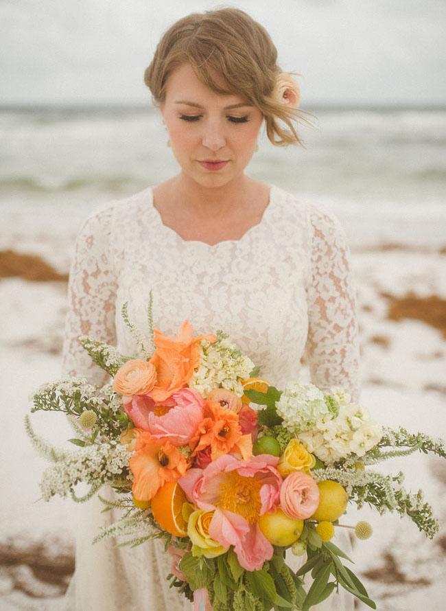 whimsical beach bouquet