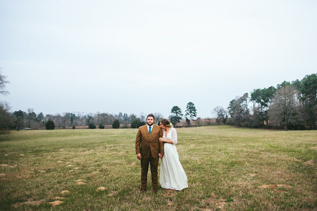 Texas bride and groom