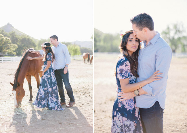 ranch and horse engagement