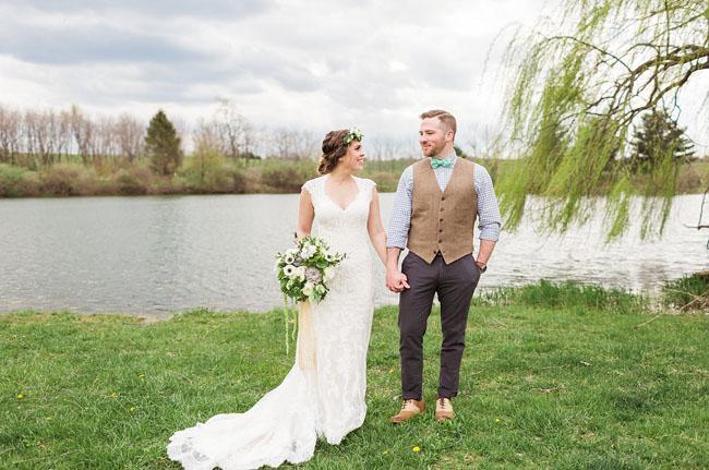 Rustic mint gold barn wedding olivia greg mint colored wedding junglespirit Images