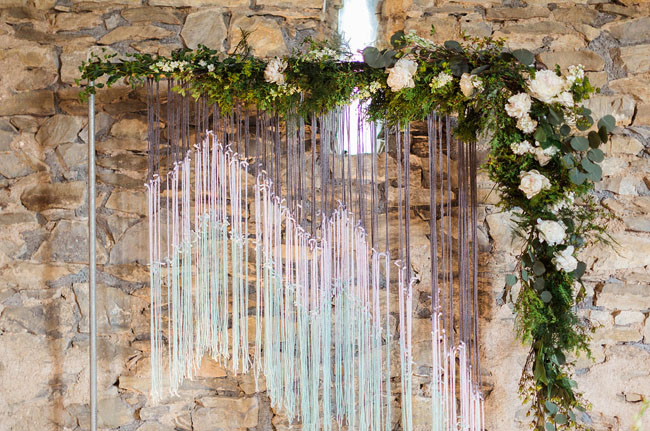 woven tapestry backdrop