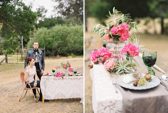 motorcycle elopement inspiration