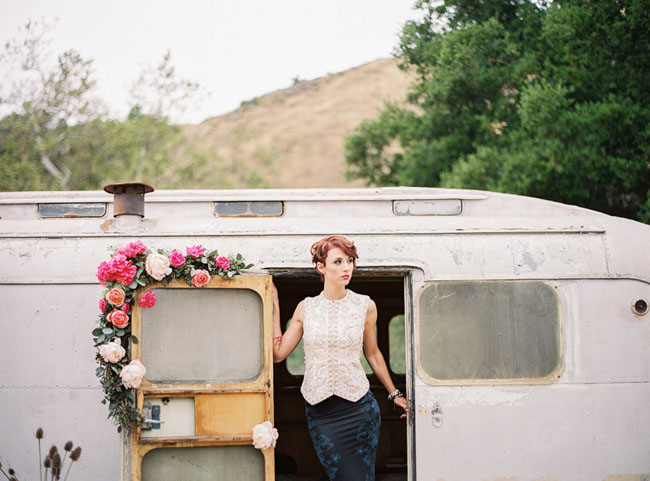 trailer elopement inspiration