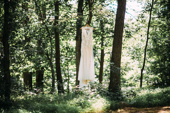 dress in the woods