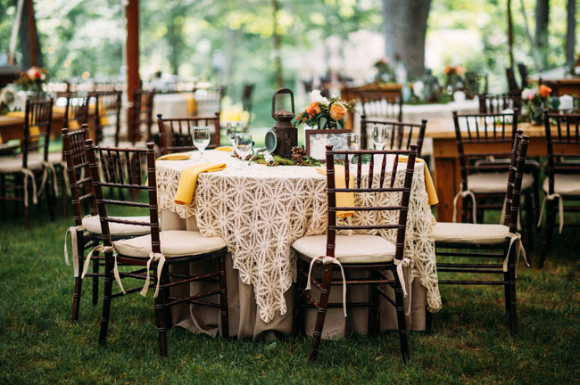 texture layered tablecloths
