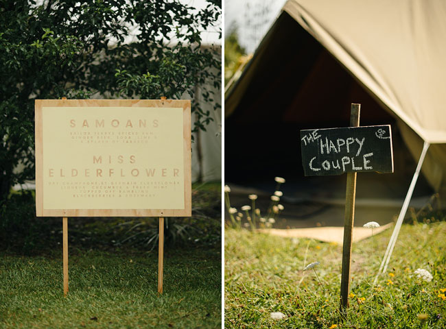 New Zealand Campground Wedding