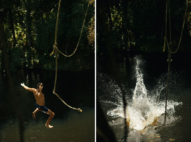 swing and swimming