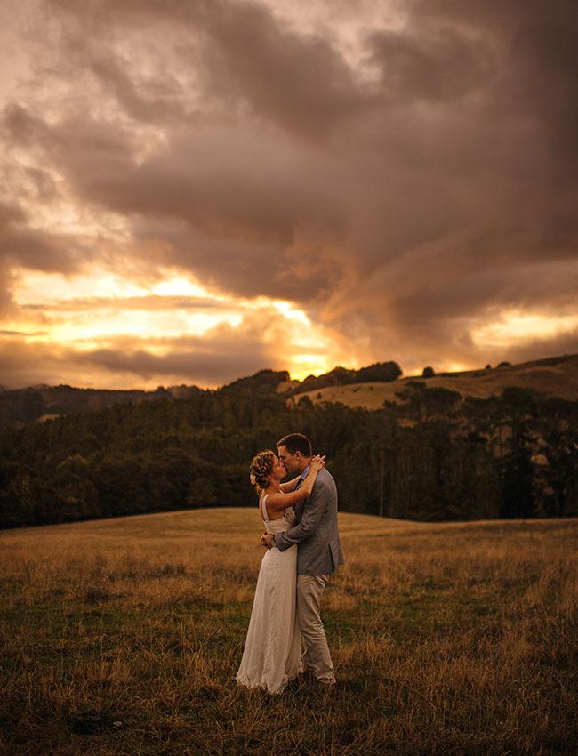 New Zealand sunset
