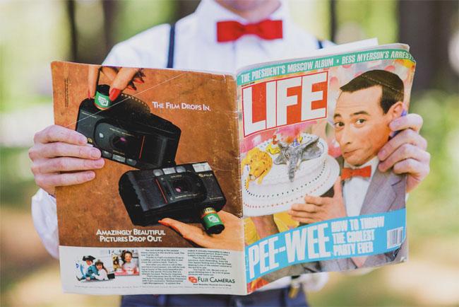 Pee Wees Big Adventure inspiration