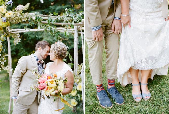 blue oxford shoes