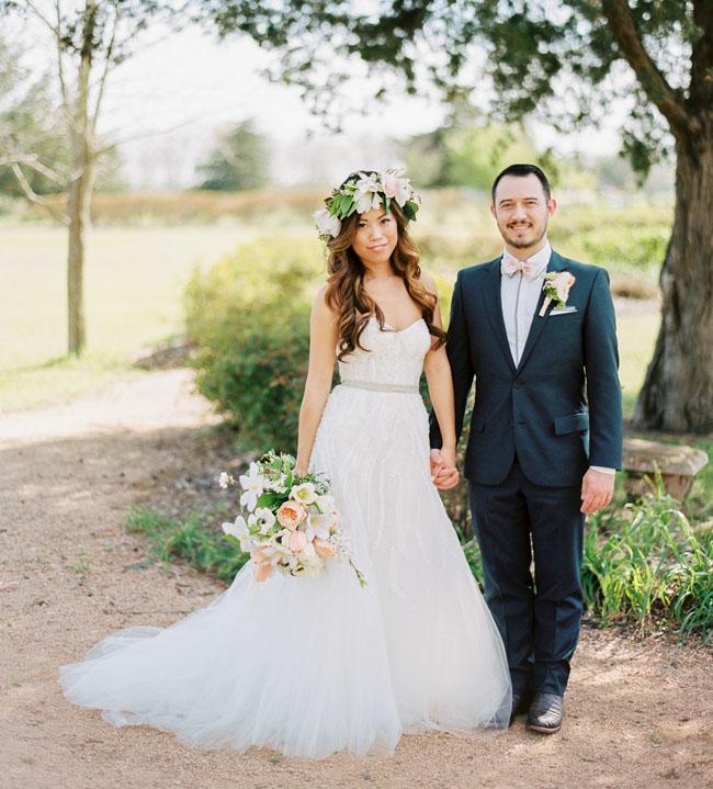 Antique Rose Emporium Wedding: Joy + Kevin